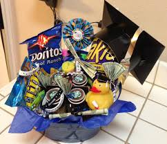 gifts for graduating seniors graduation gift basket for 8th grader gift baskets