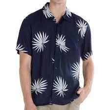 obey palm fan woven in dark navy at revert 95