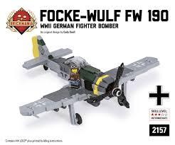 brickmania jeep instructions focke wulf fw 190 f 8 lego lego ww2 and lego kits