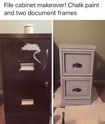 How To Refinish Desk Best 25 File Cabinet Makeovers Ideas On Pinterest Filing