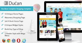 ducan u2014online shopping store premium html template