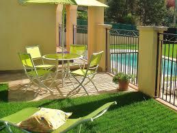 salle a manger provencale appartement dans maison provencale avec piscine spa jacuzzi sur la