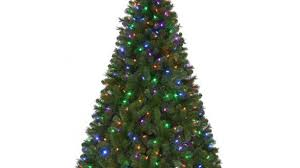 luxurious and splendid artificial tree with lights pencil