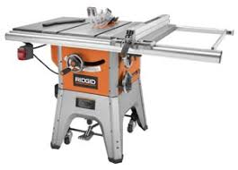 Ryobi 10 Inch Portable Table Saw Ridgid R4512 Table Saw Review On Tool Box Buzz Tool Box Buzz