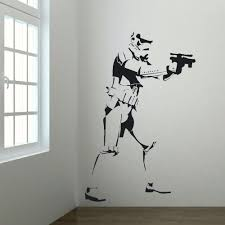 child wall murals promotion shop for promotional child wall murals extra large storm trooper star wars life size vinyl stickers wall art big mural sticker decal