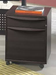 Jesper File Cabinet Premium Locking Mobile File In Espresso Cherry Maple Or Teak