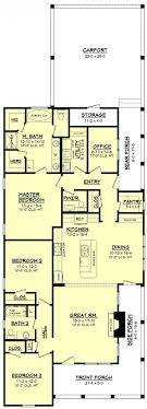 narrow cottage plans house plan best narrow lot plans ideas on cottage very beach