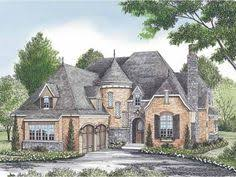 French Country European House Plans Elevation Of European French Country Tudor House Plan 42820 For