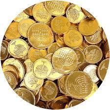 hanukkah chocolate coins milk chocolate chanukah gelt 3 lb bulk bag great service