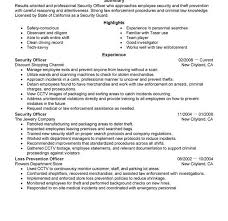 On Campus Job Resume Sample by Nice Inspiration Ideas Security Guard Resume Examples 8