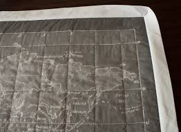 map quilt the on my wall gray vintage map quilt fluffyland craft