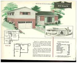 house plans 1960 house designs split levels newest plans