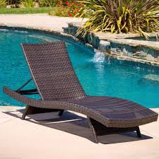 chaise lounges round brown wicker chaise lounge chairs with