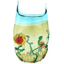 Porcelain Flower Vases Murano Glass Vases Murano Glass Tall Abstract Flower Vase