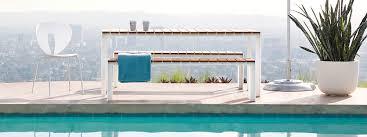 Modern Garden Table Stua Deneb Minimalist Tables And Benches Interior U0026 Exterior