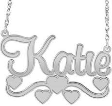 fine name necklace images Sterling silver name necklace shopstyle jpg