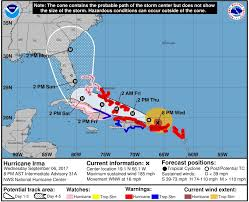 florida hurricane watches likely within hours for cat 5 hurricane