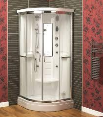 corner shower stalls bathroom image of amazing corner shower stalls
