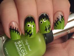 13 boo tiful halloween nail art designs