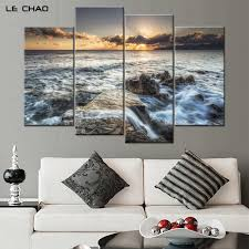 online get cheap ocean water poster aliexpress com alibaba group wall home decor living room wave canvas painting modern pictures modular wall painting poster and print art drop shipping
