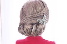 Hochsteckfrisuren Lange Haare by Einfache Schnelle Hochsteckfrisur Mittellange Bis Lange Haare