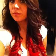 Washing Hair After Coloring Red - 24 best dip dye images on pinterest hairstyles kool aid hair