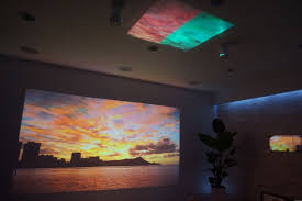 ultra short throw projector home theater sony u0027s 4k ultra short throw projector your wall as tv screen