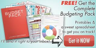 Get Out Of Debt Budget Spreadsheet by How To Get Out Of Debt On One Income 6 Steps That Anyone Can Do