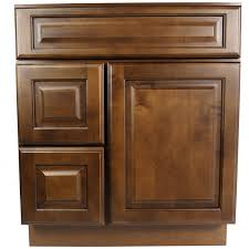 30 inch dark maple juniper chestnut bathroom vanity cabinet r