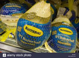 butterball turkeys on sale butterball brand frozen turkeys for sale in a supermarket in new