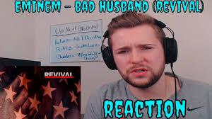 eminem bad husband revival reaction deep youtube