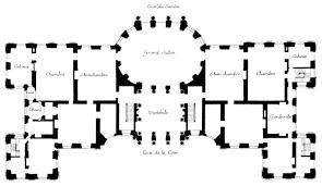 Floor Plan Of A Salon File Plan Of Vaux Le Vicomte Harris 2005 P249 Jpg Wikimedia