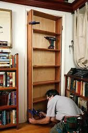 Bookcase Closet Doors Closet Door Storage Tutorial For Door Bookcase A Mandatory
