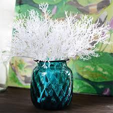 Decorative Branches For Vases Uk Artificial Coral Twig Branches Bundle Decoration Ornaments Plastic