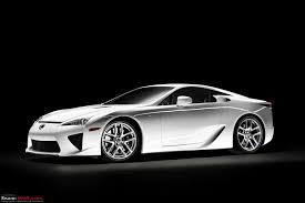 lexus supercar new lexus lfa revealed 4 8 v10 550 bhp 0 100 in u003c 4 sec team bhp