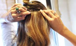Hair Extension Tips by How To Apply Hair Extensions The Glamourai