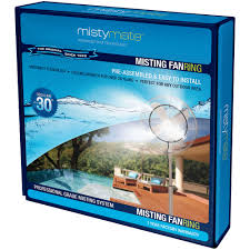 Patio Fans With Misters by Misty Mate 4 Nozzle Fan Ring Walmart Com