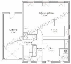 plan maison cuisine ouverte