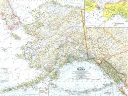Alaska Map by 1959 State Of Alaska Map Historical Maps