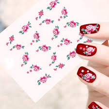 buy looks united self adhesive nail art sticker pack of 10