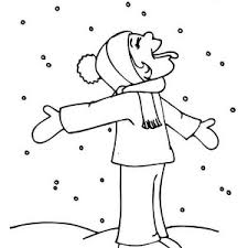 cute snowman doll winter coloring cute snowman
