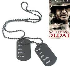 titanium dog tag necklace images Cool man us soldier dog tag necklace pendant titanium jewelry shop jpg