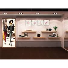 Garment Shop Interior Design Ideas Unique Design Canvas Wall Art Fashion Dress High Heels Perfume