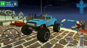 monster truck video game play ski resort driving simulator new vehicle monster truck unlocked