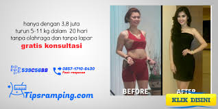 tips ring langsing 20 hari tanpa repot dan olahraga
