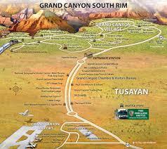Grand Canyon National Park Map Area Maps Grandcanyoncvb Org