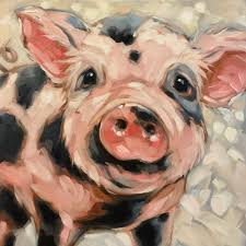 25 pig art ideas animal paintings pig