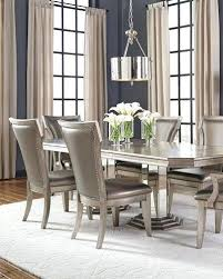 damask print dining chairs leopard chair slipcovers room floral