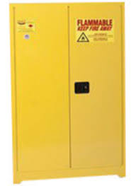 storage cabinets with shelves airgas e421947 eagle 45 gallon yellow 18 gauge steel safety