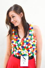 halloween diy gumball machine costume revamperate